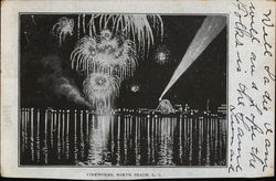 Fireworks Display, North Beach