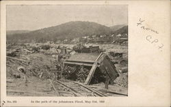 In the Path of the Johnstown Flood. May 31, 1889