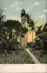 Lighthouse at Cape Florida Postcard