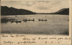 Boaters on Lake Pochung
