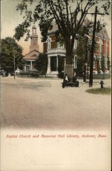 Baptist Church and Memorial Hall Library