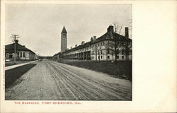 The Barracks Postcard