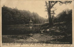 Lake Lanape Postcard