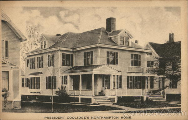 President Coolidge's Northampton Home Massachusetts