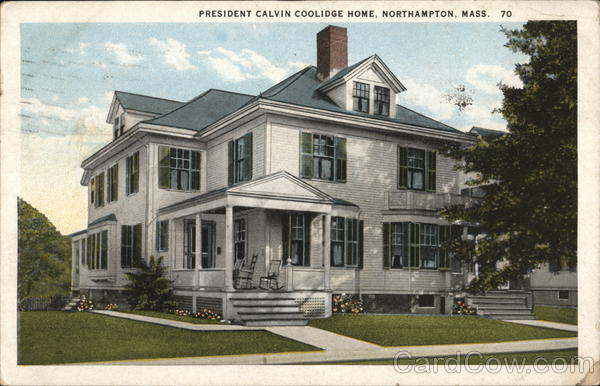President Calvin Coolidge House Northampton Massachusetts
