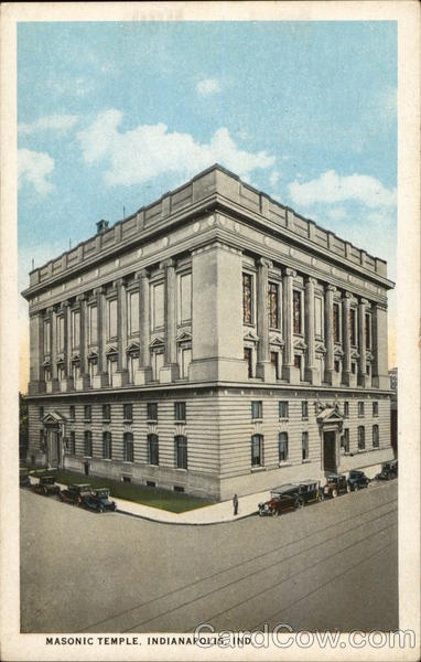View of Masonic Temple Indianapolis