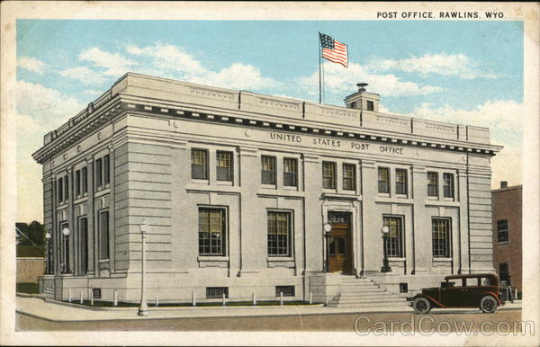 Rawlins Post Office Wyoming