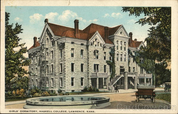 Girls' Dormitory, Haskell College Lawrence Kansas
