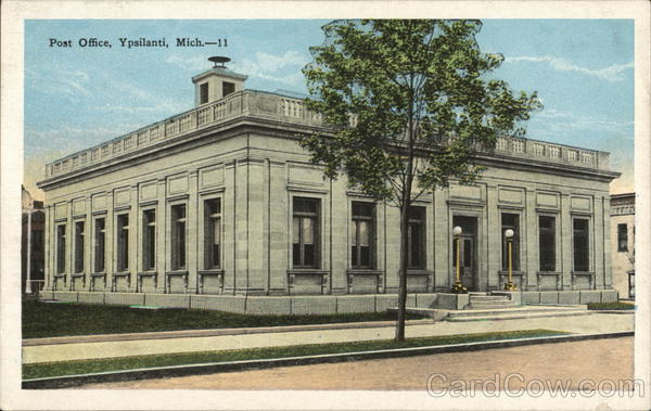Post Office Ypsilanti Michigan