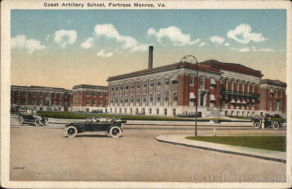 Coast Artillery School Fort Monroe Virginia