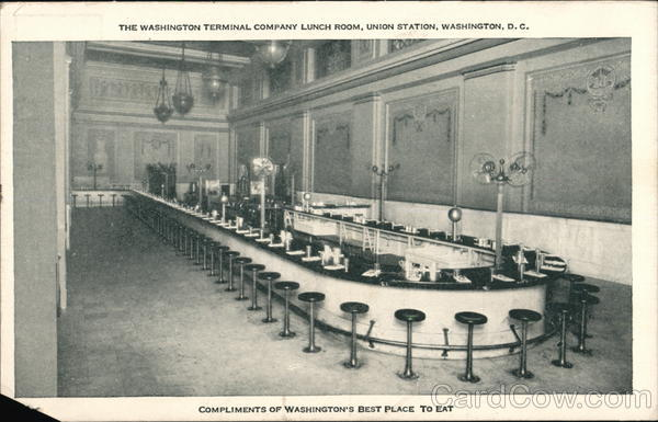 The Washington Terminal Company Lunch Room, Union Station District of Columbia