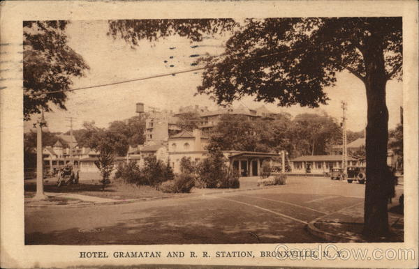 Hotel Gramatan And R Station Bronxville New York