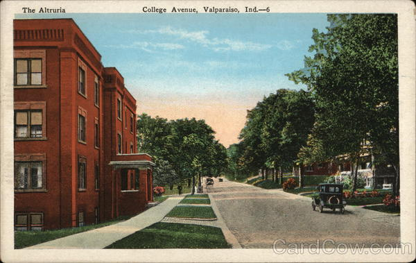 College Avenue Valparaiso Indiana