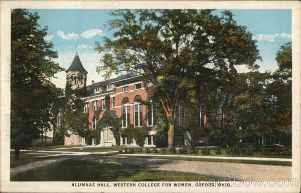 Alumnae Hall, Western College For Women Oxford Ohio