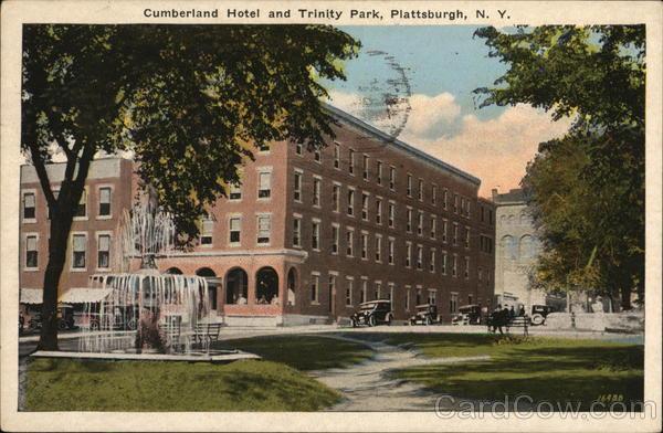 Berland Hotel And Trinity Park Plattsburgh New York