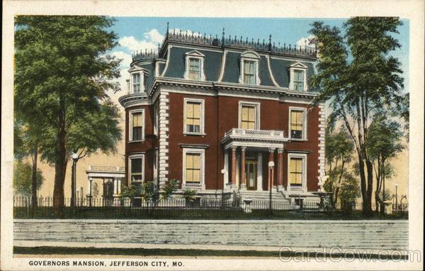 Governors Mansion Jefferson City Missouri