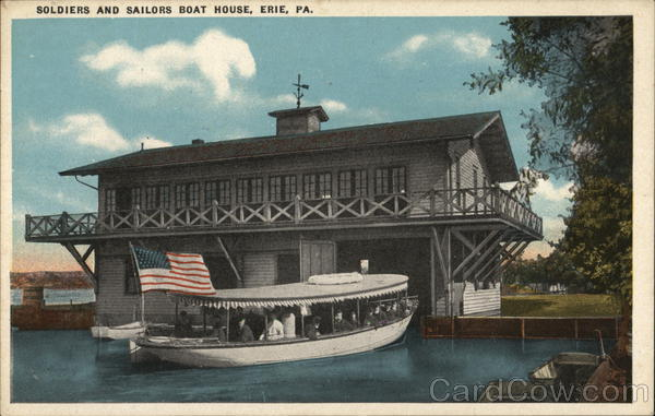 Soldiers and Sailors Boat House Erie Pennsylvania