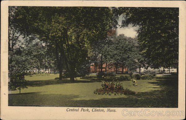 Central Park Clinton Massachusetts