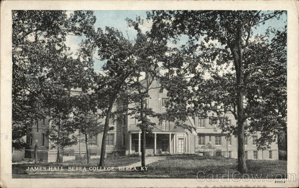 Berea College - James Hall Kentucky