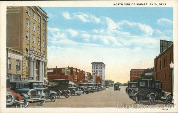 North Side of Square Enid Oklahoma