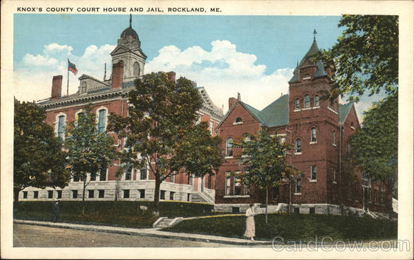 Knox's County Court House and Jail Rockland Maine
