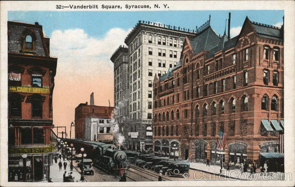 Vanderbilt Square Syracuse New York