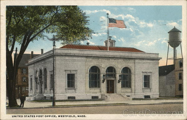 United States Post Office Westfield Massachusetts
