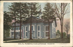 The Moravian Church and Parsonage