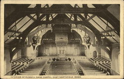Interior of Russell Sage Chapel