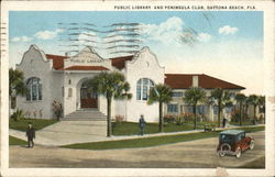 Public Library and Peninsula Club