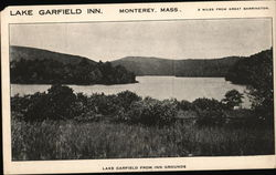Lake Garfield from Lake Garfield Inn Grounds Postcard