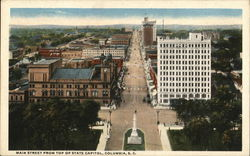 Main Street from Top of State Capitol