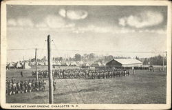 Scene at Camp Greene