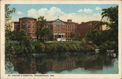 St. Vincent's Hospital Postcard