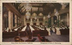 The Palace Palm Court - The Most Beautiful Dining Room in America