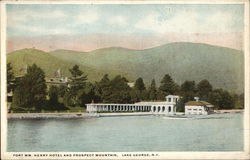 Fort William Henry Hotel and Prospect Mountain