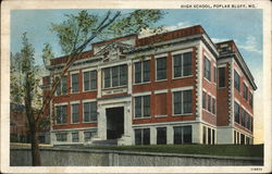 Poplar Bluff High School Postcard