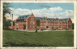 Newell Hall, Maryland State Normal School