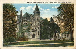 Warner Conservatory of Music, Oberlin College