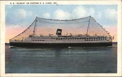 S.S. 'Acadia' on Eastern S.S. Lines, Inc.