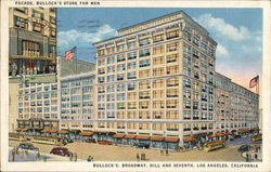 Facade, Bullock's Store For Men - Broadway, Hill and Seventh