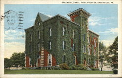 Greenville Hall, Thiel College