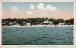 'Thompson's' at Mouth of Bongo River Postcard