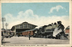 The Southern Pacific Broad Gauge Depot