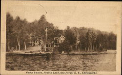 Camp Fulton, Fourth Lake, Adirondacks