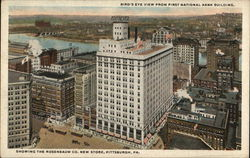 Bird's Eye View from First National Bank Building