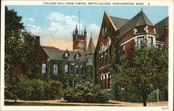 Smith College - College Hall from Campus