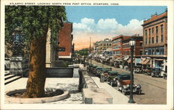 Atlantic Street Looking North from Post Office Postcard