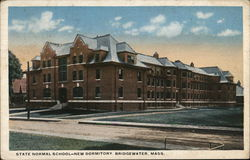 State Normal School - New Dormitory