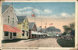 Restaurant Row, Salem Willows